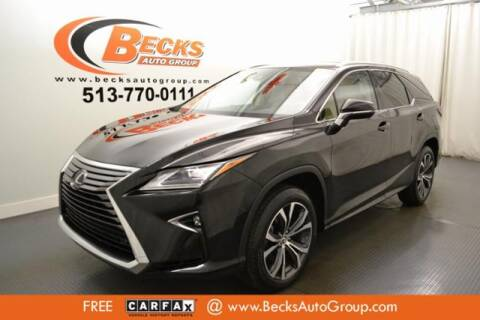 2018 Lexus RX 350L for sale at Becks Auto Group in Mason OH