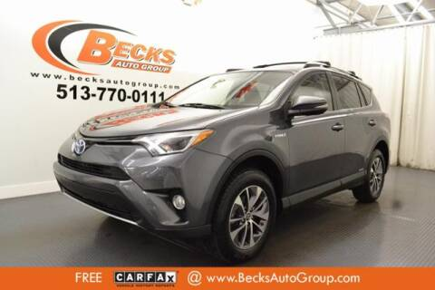 2016 Toyota RAV4 Hybrid for sale at Becks Auto Group in Mason OH