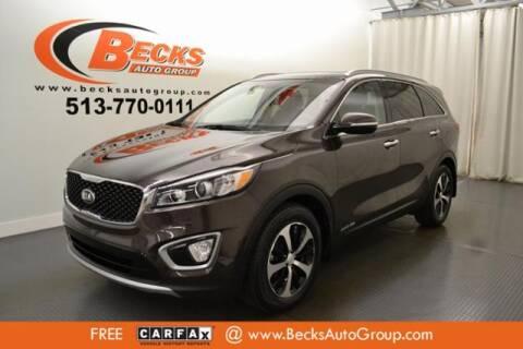 2016 Kia Sorento for sale at Becks Auto Group in Mason OH