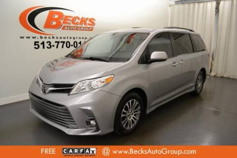 2018 Toyota Sienna for sale at Becks Auto Group in Mason OH