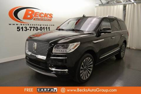 2018 Lincoln Navigator for sale at Becks Auto Group in Mason OH