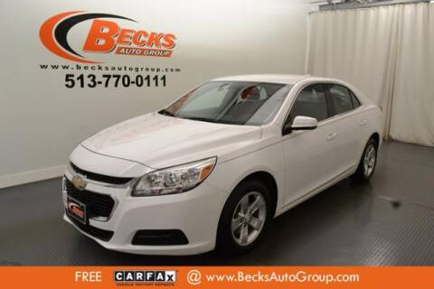 2016 Chevrolet Malibu Limited for sale at Becks Auto Group in Mason OH