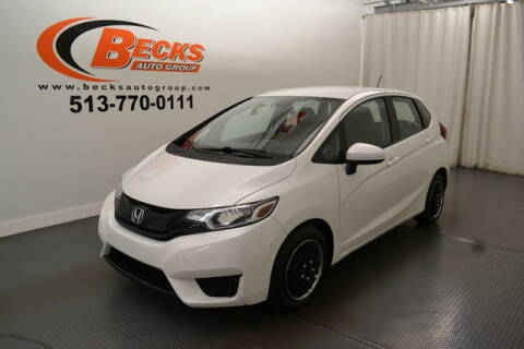 2015 Honda Fit for sale at Becks Auto Group in Mason OH