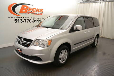 2012 Dodge Grand Caravan for sale at Becks Auto Group in Mason OH