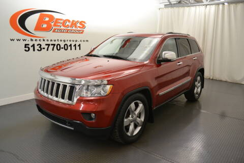 2011 Jeep Grand Cherokee for sale at Becks Auto Group in Mason OH