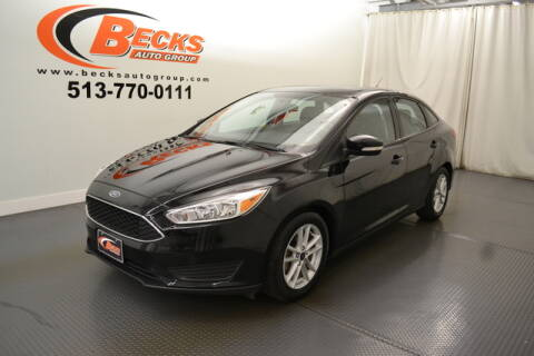 2016 Ford Focus for sale at Becks Auto Group in Mason OH