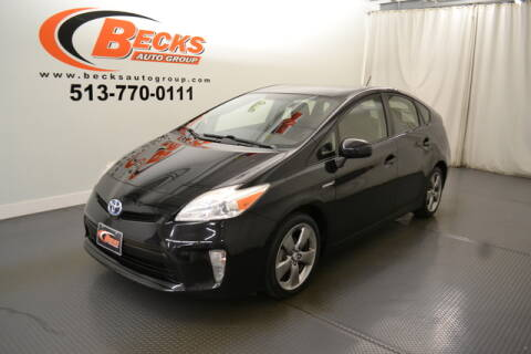 2013 Toyota Prius for sale at Becks Auto Group in Mason OH