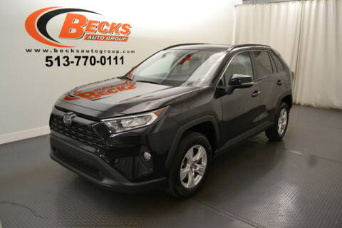 2019 Toyota RAV4 for sale at Becks Auto Group in Mason OH