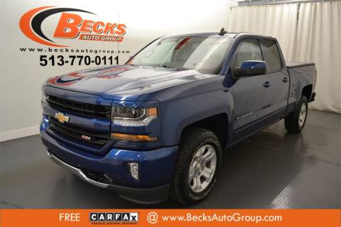 2018 Chevrolet Silverado 1500 for sale at Becks Auto Group in Mason OH