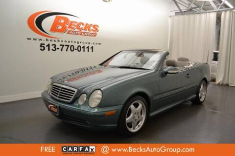 2001 Mercedes-Benz CLK for sale at Becks Auto Group in Mason OH