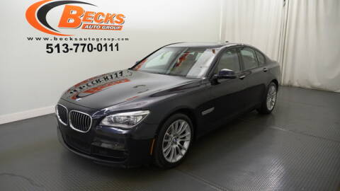 2015 BMW 7 Series for sale at Becks Auto Group in Mason OH