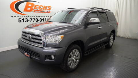 2013 Toyota Sequoia for sale at Becks Auto Group in Mason OH