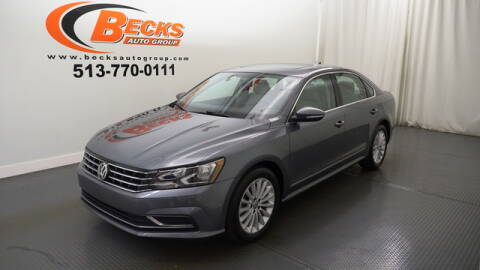 2017 Volkswagen Passat for sale at Becks Auto Group in Mason OH