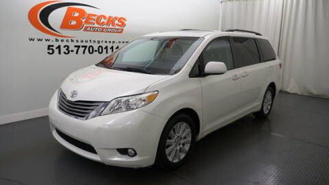 2015 Toyota Sienna for sale at Becks Auto Group in Mason OH