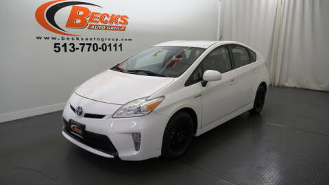 2012 Toyota Prius for sale at Becks Auto Group in Mason OH