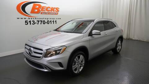 2015 Mercedes-Benz GLA for sale at Becks Auto Group in Mason OH