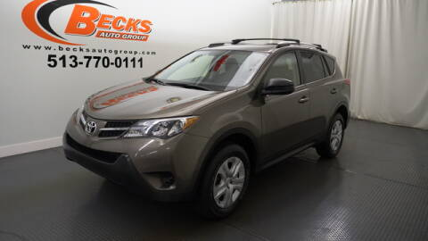 2015 Toyota RAV4 for sale at Becks Auto Group in Mason OH