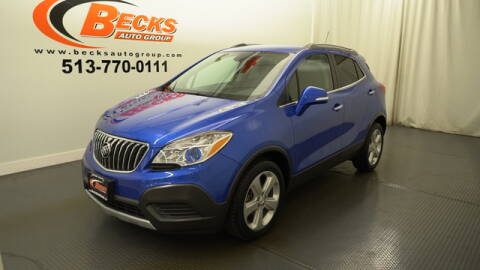 2015 Buick Encore for sale at Becks Auto Group in Mason OH
