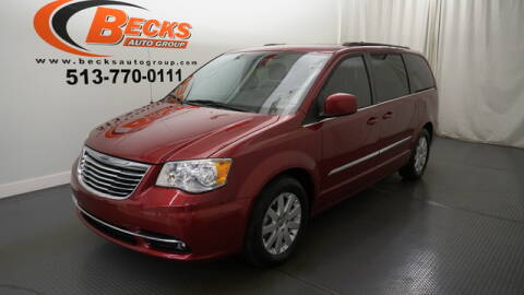 2014 Chrysler Town and Country for sale at Becks Auto Group in Mason OH