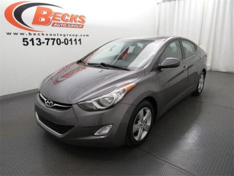 2013 Hyundai Elantra for sale at Becks Auto Group in Mason OH
