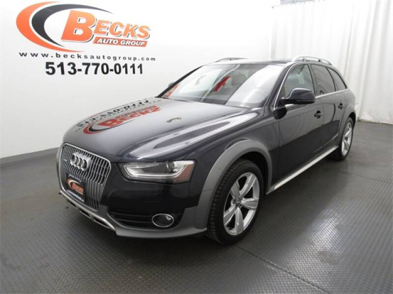 2015 Audi Allroad for sale at Becks Auto Group in Mason OH