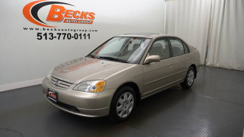 2002 Honda Civic for sale at Becks Auto Group in Mason OH