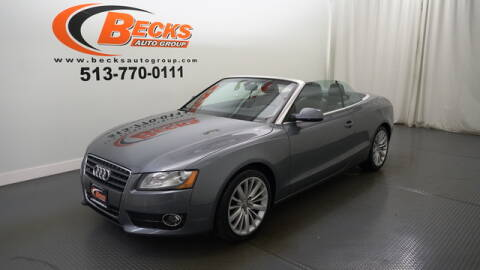 2012 Audi A5 for sale at Becks Auto Group in Mason OH