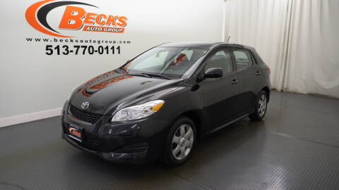 2009 Toyota Matrix for sale at Becks Auto Group in Mason OH