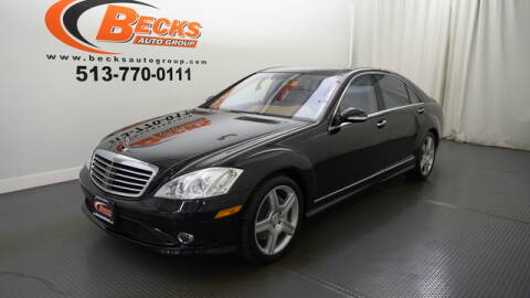 2008 Mercedes-Benz S-Class for sale at Becks Auto Group in Mason OH