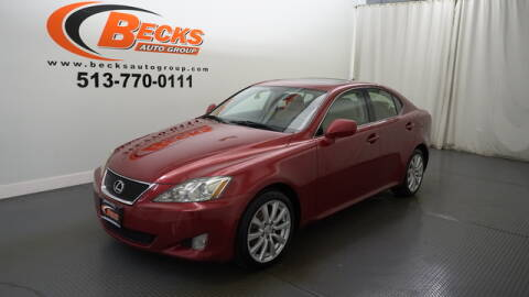 2008 Lexus IS 250 for sale at Becks Auto Group in Mason OH