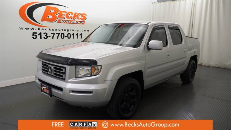 2006 Honda Ridgeline for sale at Becks Auto Group in Mason OH