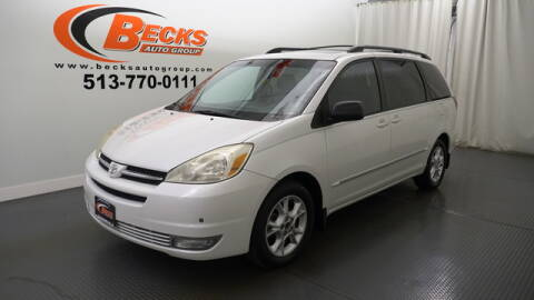2005 Toyota Sienna for sale at Becks Auto Group in Mason OH