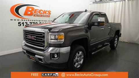 2015 GMC Sierra 2500HD for sale at Becks Auto Group in Mason OH
