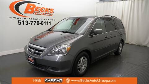 2007 Honda Odyssey for sale at Becks Auto Group in Mason OH
