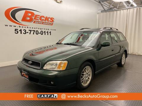 2003 Subaru Legacy for sale at Becks Auto Group in Mason OH