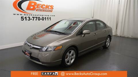 2008 Honda Civic for sale at Becks Auto Group in Mason OH