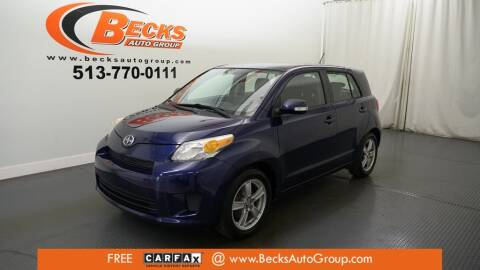 2009 Scion xD for sale at Becks Auto Group in Mason OH