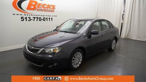 2009 Subaru Impreza for sale at Becks Auto Group in Mason OH