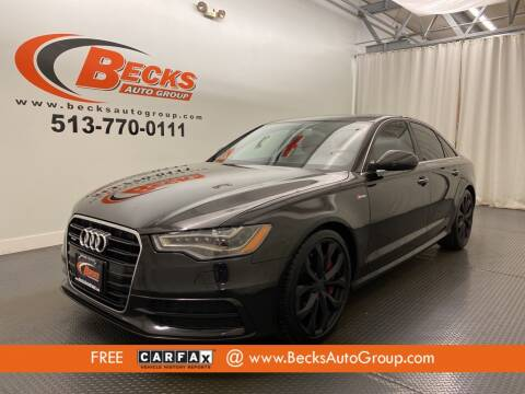 2014 Audi A6 for sale at Becks Auto Group in Mason OH
