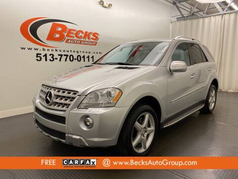2010 Mercedes-Benz M-Class for sale at Becks Auto Group in Mason OH