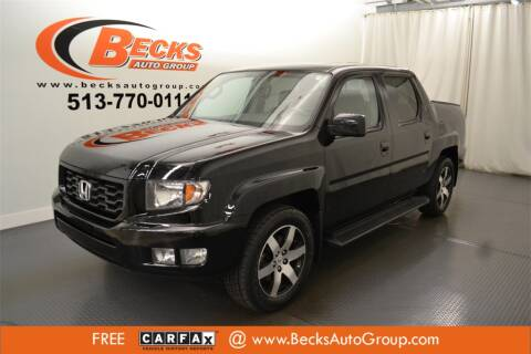 2014 Honda Ridgeline for sale at Becks Auto Group in Mason OH