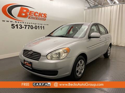 2011 Hyundai Accent for sale at Becks Auto Group in Mason OH