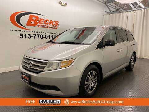 2011 Honda Odyssey for sale at Becks Auto Group in Mason OH