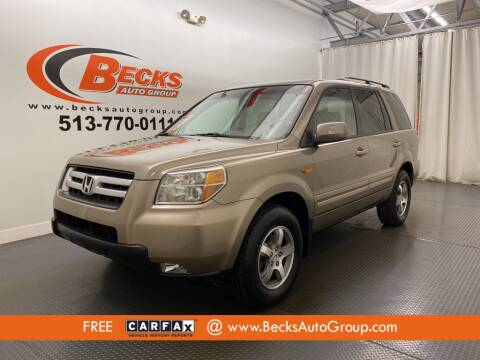 2008 Honda Pilot for sale at Becks Auto Group in Mason OH