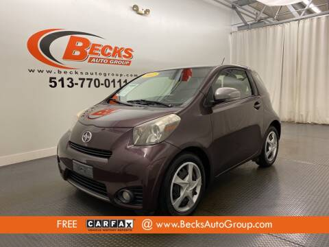 2012 Scion iQ for sale at Becks Auto Group in Mason OH