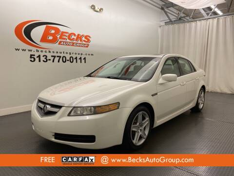 2006 Acura TL for sale at Becks Auto Group in Mason OH
