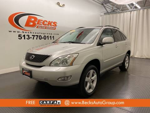 2005 Lexus RX 330 for sale at Becks Auto Group in Mason OH