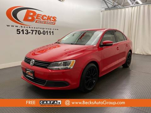 2013 Volkswagen Jetta for sale at Becks Auto Group in Mason OH