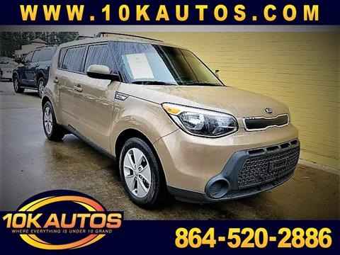 2015 Kia Soul for sale in Greenville, SC