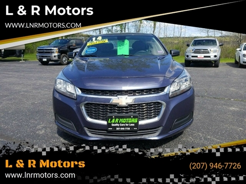 2014 Chevrolet Malibu for sale in Greene, ME